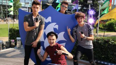 Blue Peter - Union J perform 'Tonight (We Live Forever)'