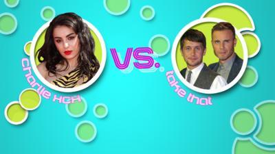 Pop Slam! - Vote: Charli XCX vs. Take That