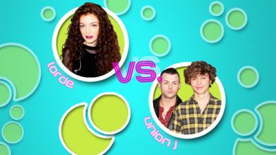Pop Slam! - Vote: Lorde vs. Union J