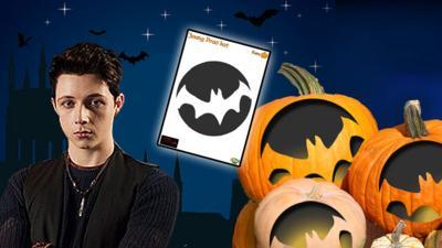Young Dracula - Pumpkin Template - Young Dracula: Bat