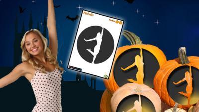 The Next Step - Pumpkin Template - The Next Step: Michelle