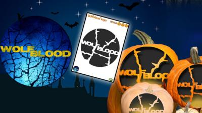 Wolfblood - Pumpkin Template - Wolfblood Logo