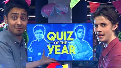 CBBC Official Chart Show - Chart Show Quiz Of The Year... so far