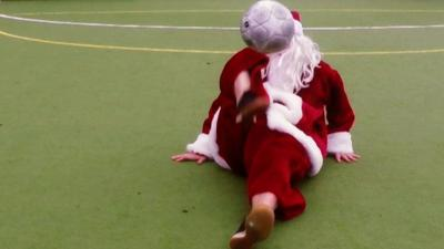 MOTD Kickabout - Father Christmas' Dream Team