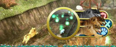 Rhydian, wolves and a spring themed Shadow Runners level.