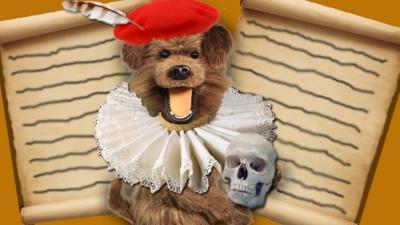 CBBC HQ - Insult Hacker the dog!