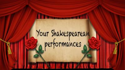 CBBC HQ - Your Shakespearean Performances