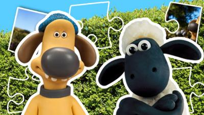 Shaun the Sheep - Jigsaw: Shaun the Sheep