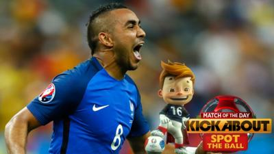 MOTD Kickabout - Quiz: Spot the Ball #45 - Euro 2016 Special #1
