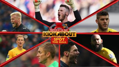 MOTD Kickabout - Quiz: Spot the ball #8 - Save of the Season