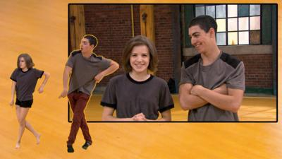The Next Step - Learn to Dance with James and Riley