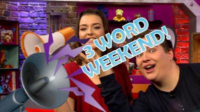 CBBC Office - Three Word Weekend