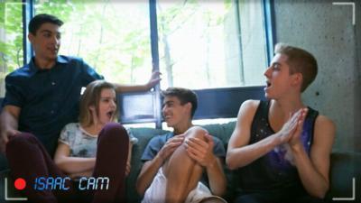 The Next Step - Cast Cam - James and Eldon