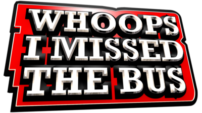 Whoops I Missed the Bus logo.