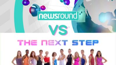 WHOOPS I MISSED THE BUS - Newsround VS The Next Step