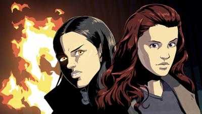 Wolfblood - Comic: Hunter's Moon – Chapter 3: Captive
