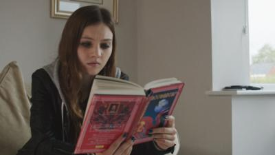 Wolfblood - Can Niamh be persuaded to keep quiet about the wolfbloods?