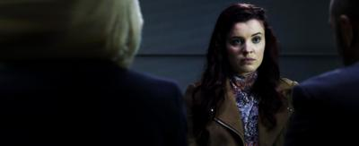Jana being interrogated
