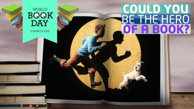 Newsround - Could you be the hero of a book?