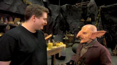 Wizards vs Aliens - CBBC Extra Wizards vs Aliens Superfan Visit Part 2