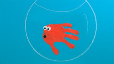 Mister Maker - Handprint Fish