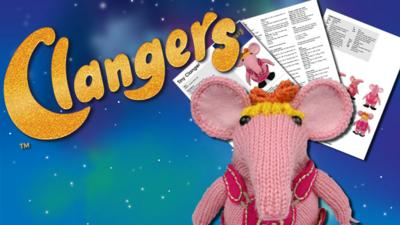 Clangers - Knit your own Clanger