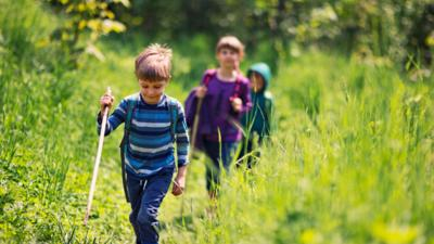 Mr Bloom: Here and There - 8 outdoor adventures to do with kids