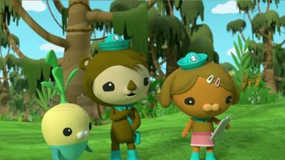 Octonauts - Great Swamp Search