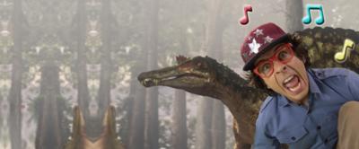 Andy and Spinosaurus