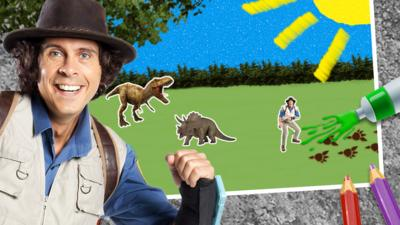 Andy's Prehistoric Adventures - Make a Prehistoric Picture