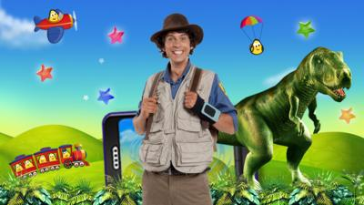 Andy's Dinosaur Adventures - Andy's Dinosaur Aventures game in the CBeebies Playtime app
