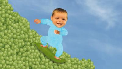 Baby Jake - Pea Surfing