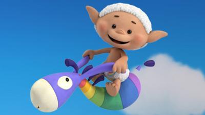 Cloudbabies - Cheeky Bobo White