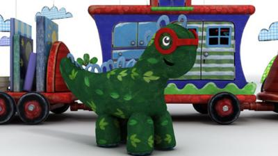 Driver Dan's Story Train - My Messyosaurus