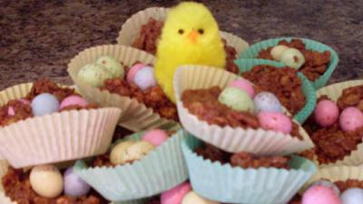 Let's Celebrate - Easter - Nest Cakes