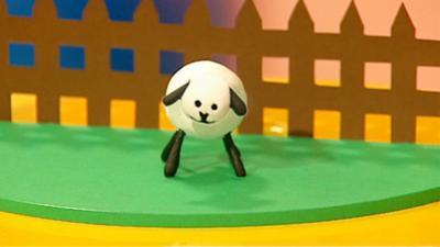 Mister Maker - Cotton Bud Sheep