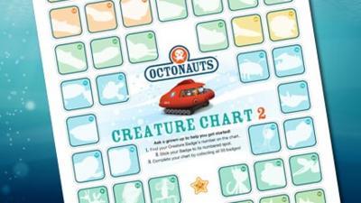Octonauts - Creature Chart