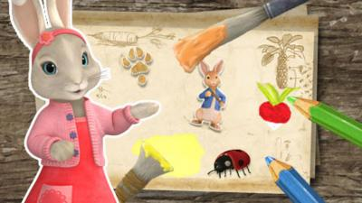 Peter Rabbit - Make a Picture with Lily