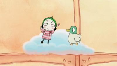 Sarah and Duck - Strawberry Souffle