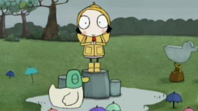 Sarah and Duck - Umbrella