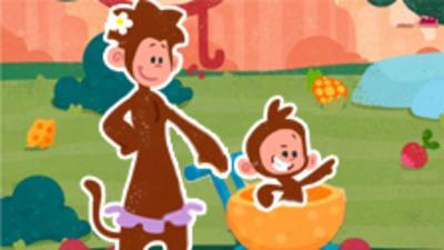 Tee and Mo - Jungle Trolley Dash