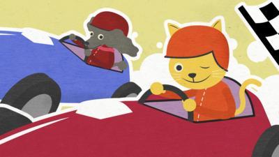 CBeebies Radio - Granny Anne's Joke World  - Raisin Cakes and Racing Cats