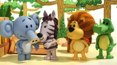 Raa Raa the Noisy Lion - Huffty Loses His Voice