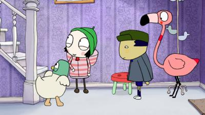 Sarah and Duck - Scared of Stairs