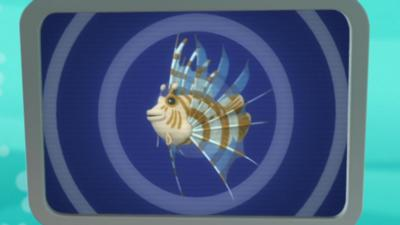 Octonauts - Lionfish Creature Report