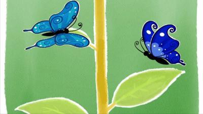 Melody - Little Blue Butterfly
