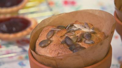 Mr Bloom: Here and There - Plant Pot Bread
