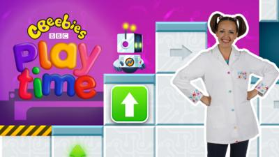 Nina and the Neurons - Nina in the CBeebies Playtime app!
