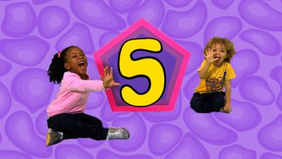 CBeebies House - Number Rap 5
