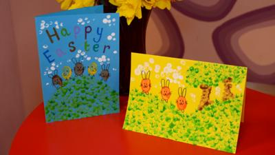 Presenters - Easter Card